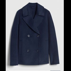 Gap Unlined Wool Blend Peacoat
